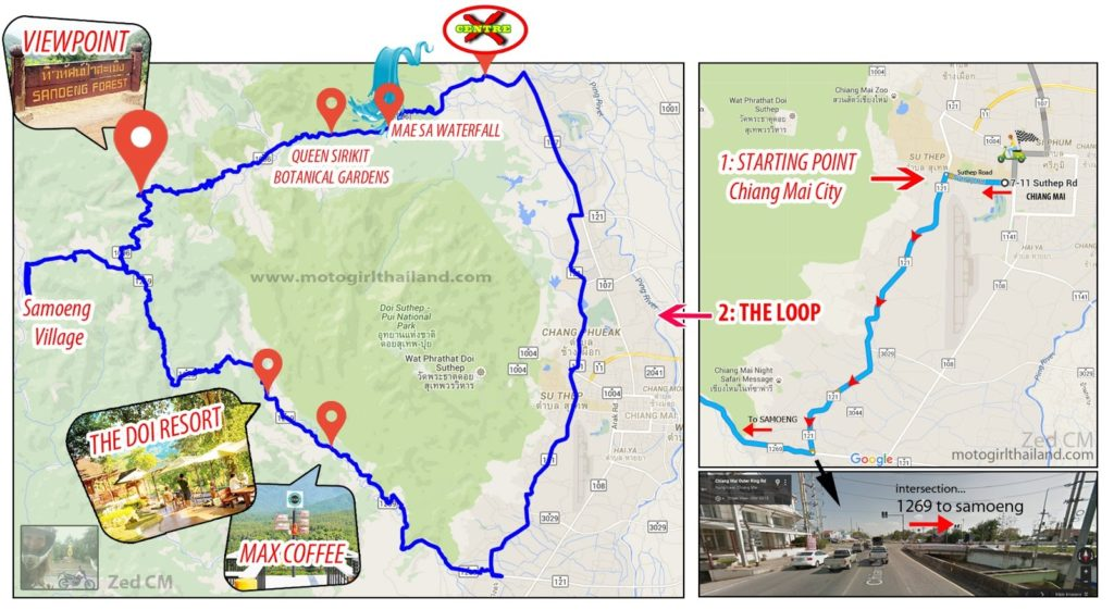 Samoeng loop map