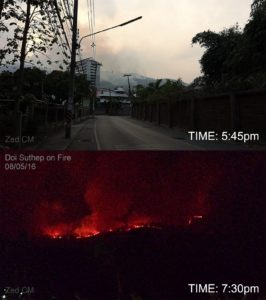 doi suthep on fire 2