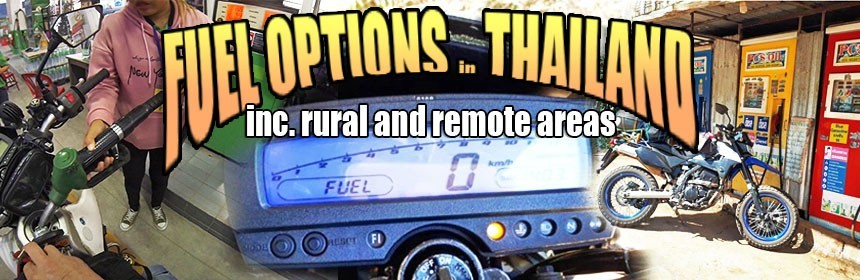 Fuel Options Thailand - Including Rural and Remote Locations